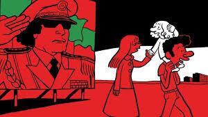 """Couverture de """"L'Arabe du futur"""", de Riad Sattouf."""