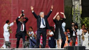 El presidente de México, Andrés Manuel López Obrador, destacó avances en materia económica durante su gestión en la presentación de su Informe de Actividades, el 1 de julio de 2019.