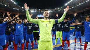 Les Bleus se sont qualifiés pour la Coupe du monde 2018.