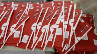 C'est dans ces enveloppes rouges que les DVD de Netflix sont envoyés aux abonnés du service de location.