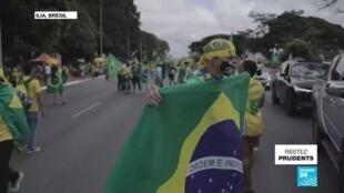 2020-05-25 11:12 Le Brésil, deuxième pays le plus touché par la pandémie de Covid-19