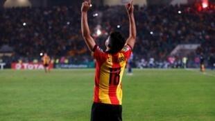سعد بقير، رجل المباراة في نهائي دوري أبطال أفريقيا بين الترجي التونسي والأهلي المصري.