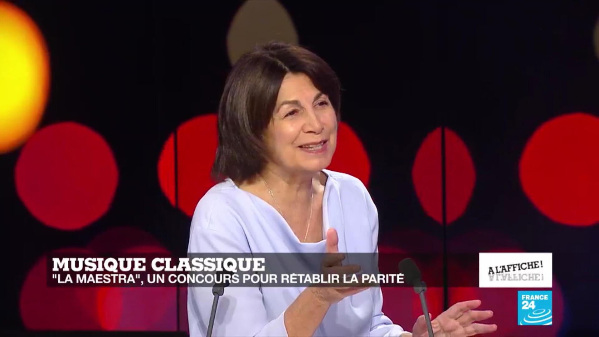 La cheffe d'orchestre Claire Gibault, septembre 2020