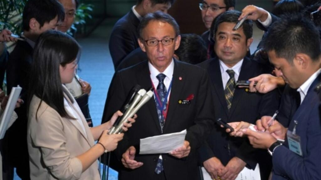 New Okinawa governor plans US tour to raise military base issues