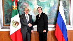 Cancilleres-Mexico-Rusia