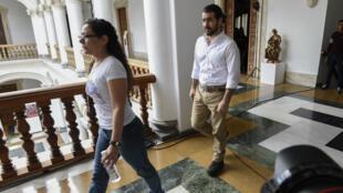 Un total de 39 presos políticos venezolanos fueron liberados luego del pronunciamiento del presidente Nicolás Maduro el 1 de junio 2018. En la foto, el exalcalde de San Cristóbal, Daniel Ceballos.