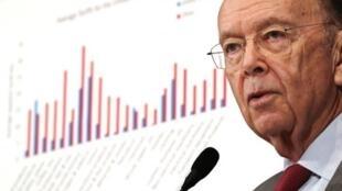 وزير التجارة الأمريكي ويلبور روس