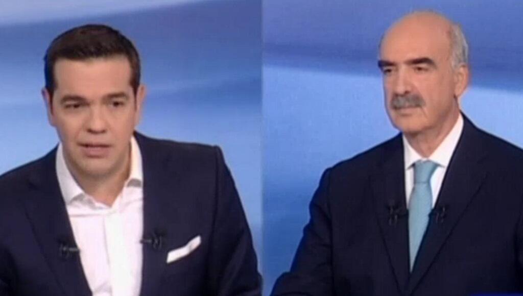 مناظرة تلفزيونية بين تسيبراس وميماراكيس