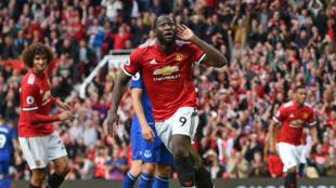 Romelu Lukaku, l'attaquant belge de Manchester United.