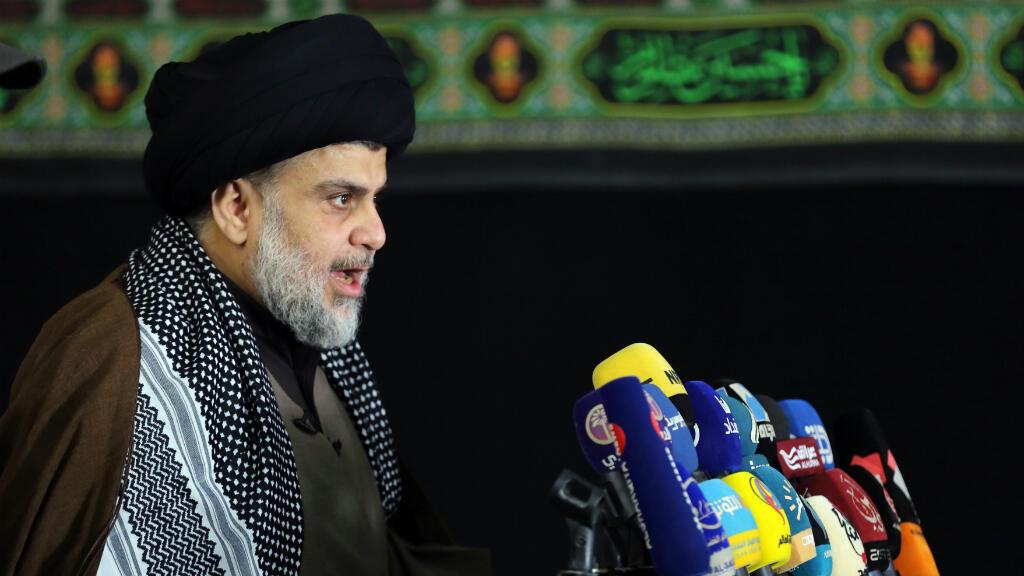 Le chef religieux irakien Moqtada al-Sadr à Najaf, le 7 décembre 2017.