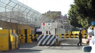 L'ambassade de France à Sanaa, le 13 février 2015.