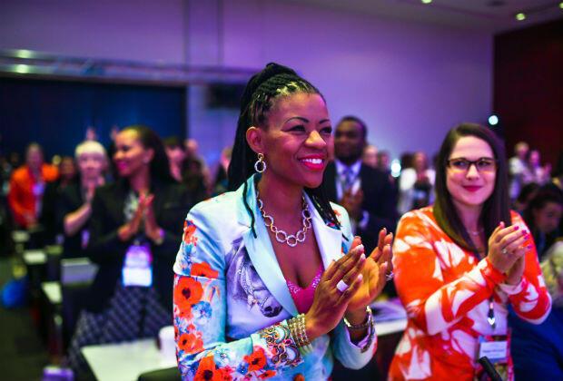 Tous les ans, le forum DWEN (Dell Women's Entrepreneurs Network) regroupe 150 cheffes d'entreprise venues du monde entier.