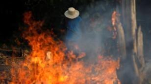 حرائق غابات الأمازون بالبرازيل. 20 أغسطس/آب 2019.