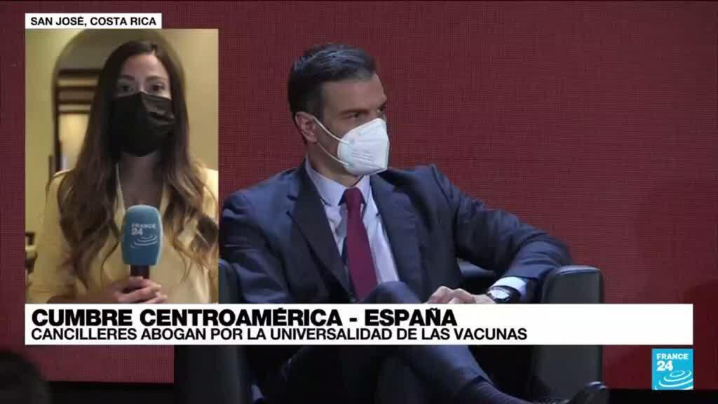 2021-06-11 17:02 Informe desde San José: Cumbre Centroamérica-España aboga por la universalidad de las vacunas