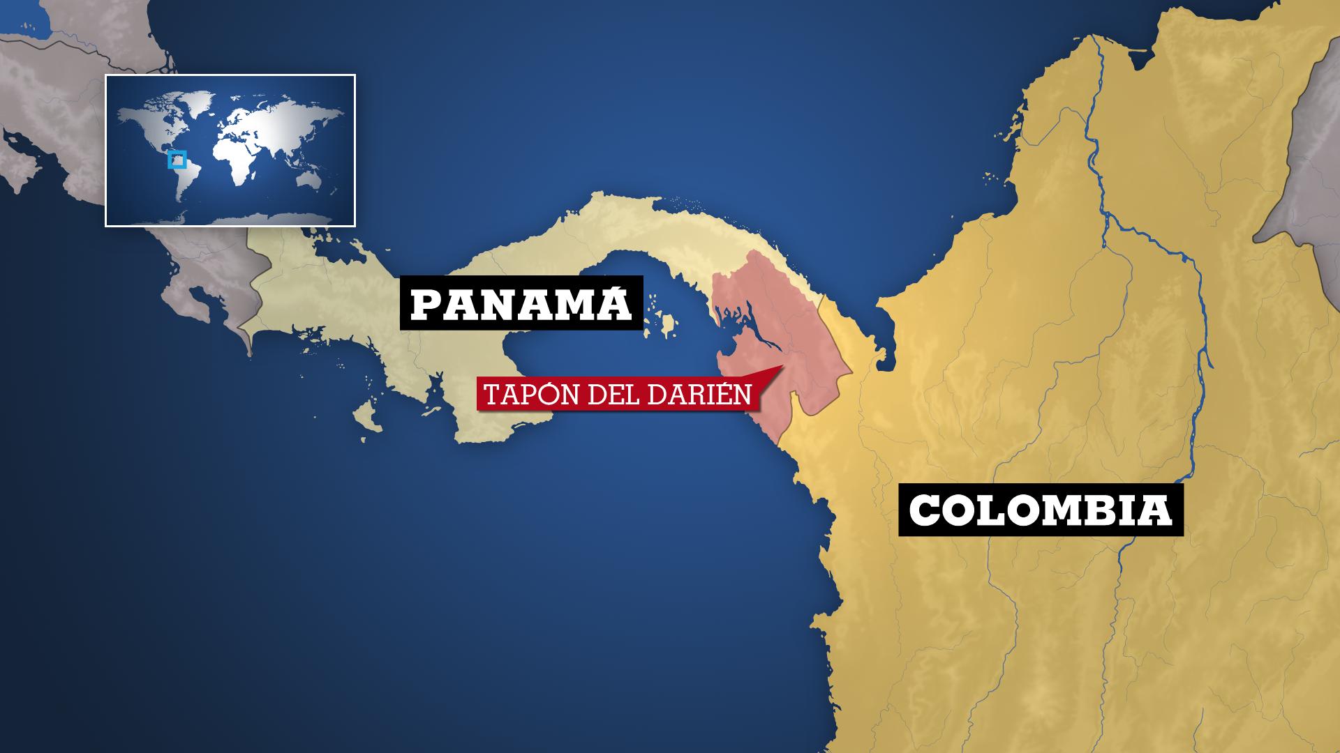 Unicef informó que en 2019 que unas 24.000 personas de más de 50 nacionalidades cruzaron el tapón del Darién, un cruce fronterizo entre Colombia y Panamá.