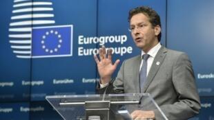 """يورين دايسلبوم، وزير المالية الهولندي ورئيس مجموعة """"اليورو"""""""