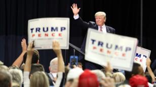 Donald Trump lors d'un meeting de campagne en Floride, le 11 août 2016.