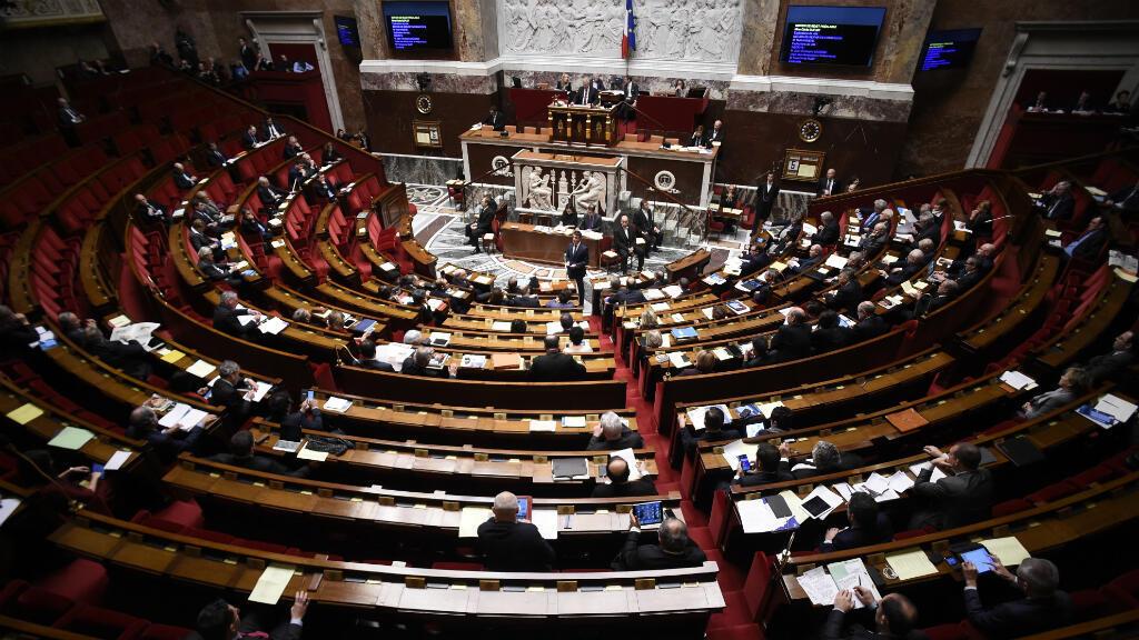 L'Assemblée nationale lors d'un discours du Premier ministre, Manuel Valls, le 5 février 2016.