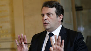 تييري سولير الناطق باسم المرشح اليميني للانتخابات الرئاسية فرانسوا فيون