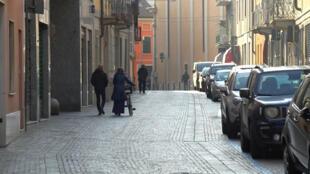 Codogno Italie Covid-19