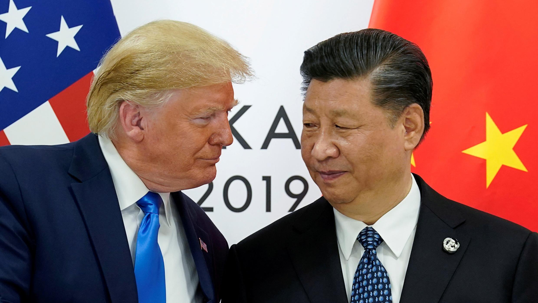 Donald Trump et Xi Jinping à Osaka le 29 juin 2019.