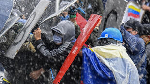 Bogota protest