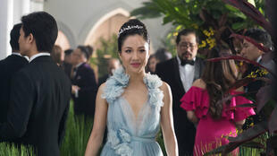 "Constance Wu, l'héroïne du film ""Crazy Rich Asians"" de Jon M. Chu, au cinéma le 10 octobre 2018 en France."