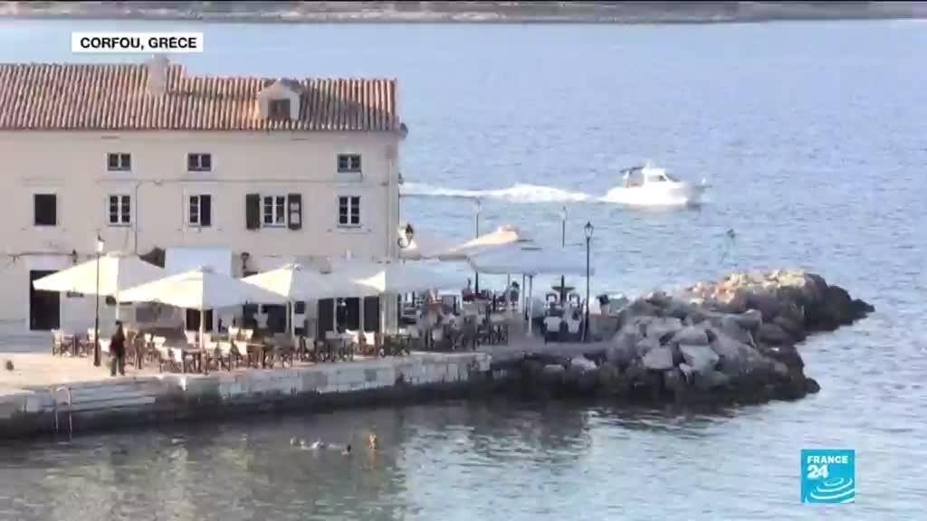 2021-05-03 15:03 Covid-19 en Grèce : réouverture des cafés et des restaurants après six mois de fermeture