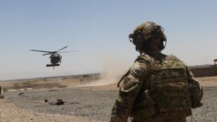 جندي أمريكي في جنوب شرق أفغانستان. 4 أغسطس/آب 2019