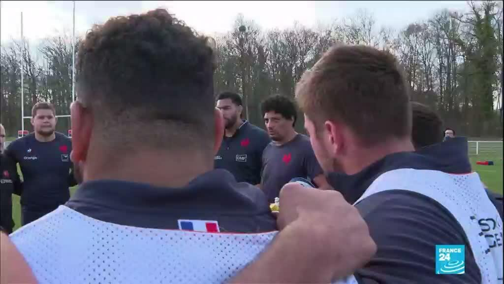 2021-03-26 17:14 France vie for Six Nations title in match against Scotland