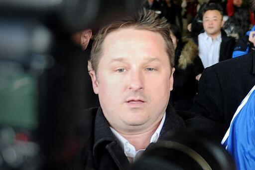 """Michael Spavor, pictured in 2014,is accused of activities that """"endanger China's security"""""""