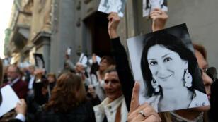 الصحفية دافنه كاروانا غاليزيا تم اغتيالها في مالطا في تشرين الثاني/أكتوبر 2017