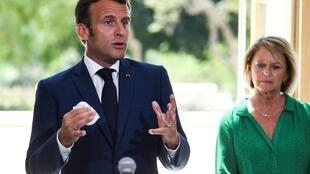 Emmanuel Macron le 4 août 2020 à Toulon