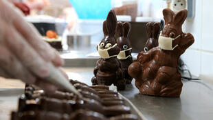 Easter chocolate France