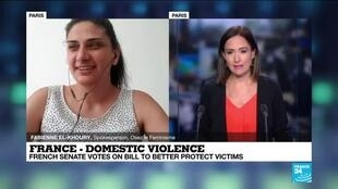 2020-07-21 13:08 Protecting domestic abuse victims in France