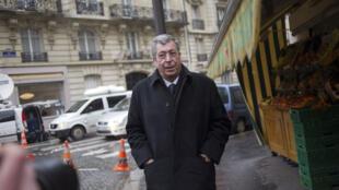 Patrick Balkany, député-maire UMP de Levallois-Perret, mis en examen le 21 octobre 2014.