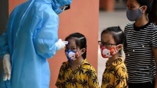 A coronavirus outbreak has put Vietnam back on high alert