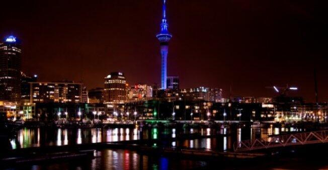 مدينة أوكلاند في نيوزيلندا في 20 أيلول/سبتمبر 2014