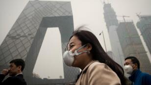 Pékin est l'une des capitales les plus polluées du monde (archives).