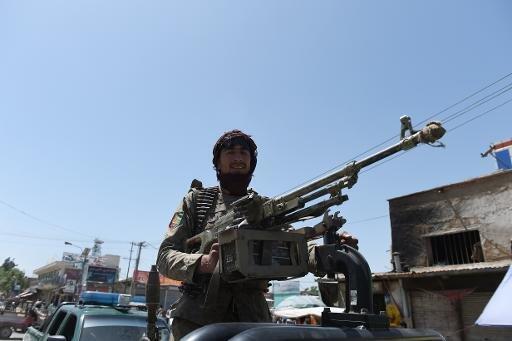 عناصر من قوات الأمن الافغانية