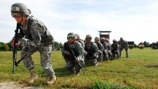 -تدريبات القوات الأمريكية