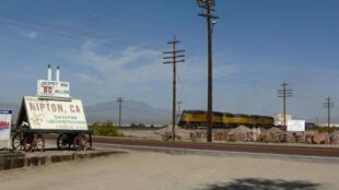 La ville fantôme de Nipton, en Californie.