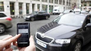 Le gouvernement français a annoncé son intention d'interdire le service UberPop à partir du 1er janvier.