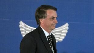 Le nouveau président du Brésil, Jair Bolsonaro, le 2 janvier 2019 à Brasilia.
