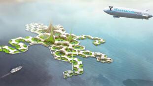 La future Atlantide...en image de synthèse.