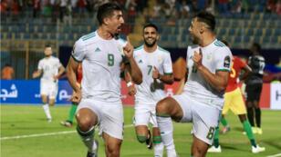 L'Algérie n'a fait qu'une bouchée de la Guinée, en 8es de finale de la CAN-2019.
