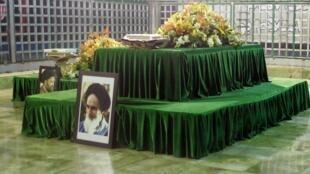 Le mausolée de l'ayatollah Khomeini, fondateur de la République islamique, le 5 février 2009.