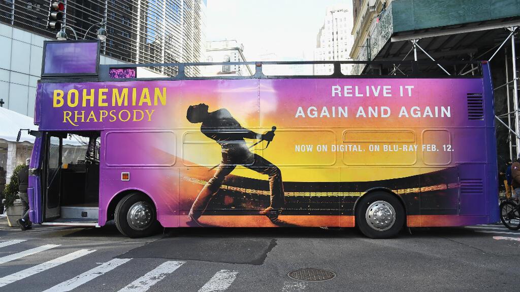 """Evento de lanzamiento del Rock Like Queen Tour """"Bohemian Rhapsody"""" el 25 de enero de 2019, en la ciudad de Nueva York, Estados Unidos."""