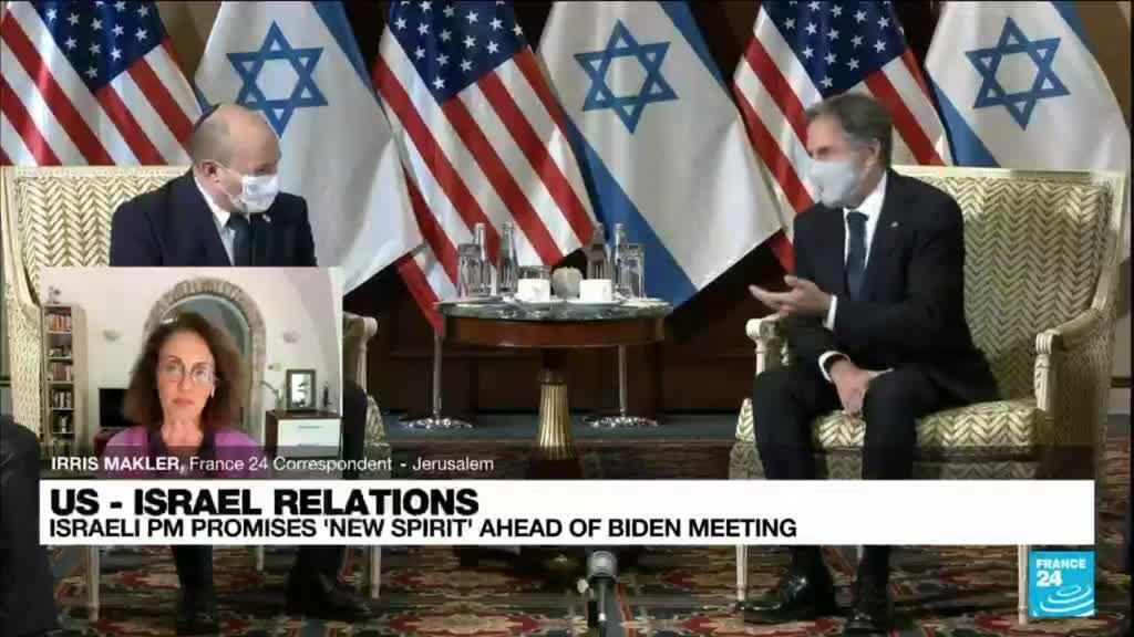 2021-08-26 12:06 Israeli PM to make case to Biden against Iran nuclear deal