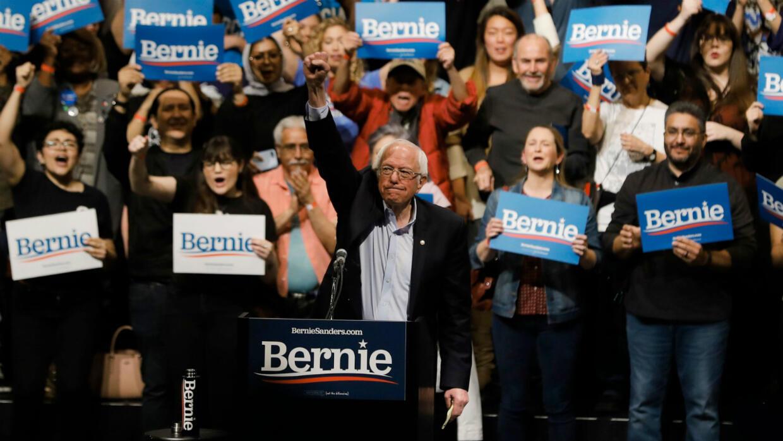 Primaires démocrates : Bernie Sanders donné vainqueur des caucus du Nevada